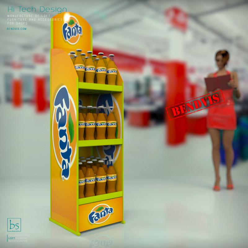 Изготовление брендовых рекламных стендов