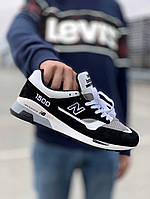 Кроссовки мужские New Balance 1500 Black White. ТОП КАЧЕСТВО!!!  Реплика, фото 1