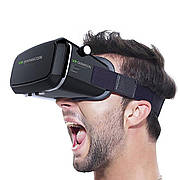 3D очки виртуальной реальности VR BOX SHINECON + ПУЛЬТ ЧЕРНЫЕ