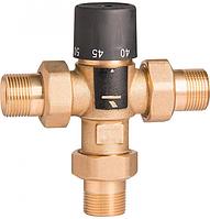 """Термостатический смешивающий клапан Gross 3/4"""" 40-65°С (Вывод сбоку)"""