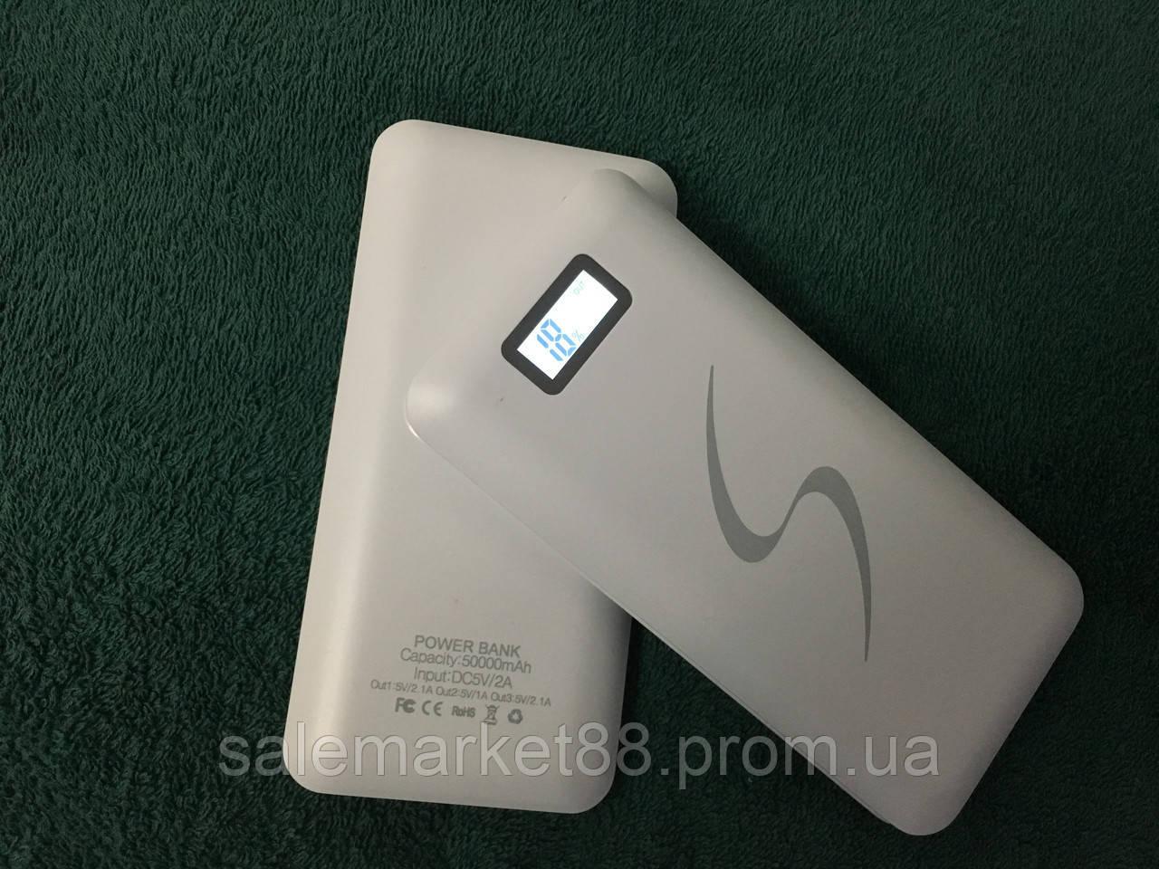 Smart PowerBank 50000mAh 2 USB с экраном