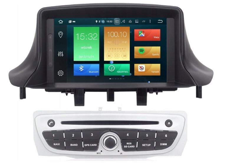Штатная магнитола 2DIN Android 9 для Renault Megane 3 Wi-fi 32Gb/4Gb