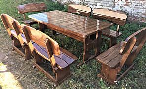 Деревянная авторская мебель 2000*1000 из слэба, живой край, ручная работа в стиле Live edge от производителя