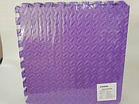 М'яка підлога пазл Lanor (500*500*10мм) Фіолетовий, фото 1
