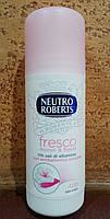 Дезодорант антиперспирант без солей алюминия! ИТАЛИЯ Neutro Roberts защита, практичное применение, 40 мл.