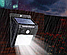 Светодиодный навесной фонарь с датчиком движения 609 + solar 20 диодов, фото 6