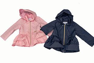 Детская ветровка для девочки Одежда для девочек 0-2 Baby Band Италия 2527 весенняя осенняя демисезонная
