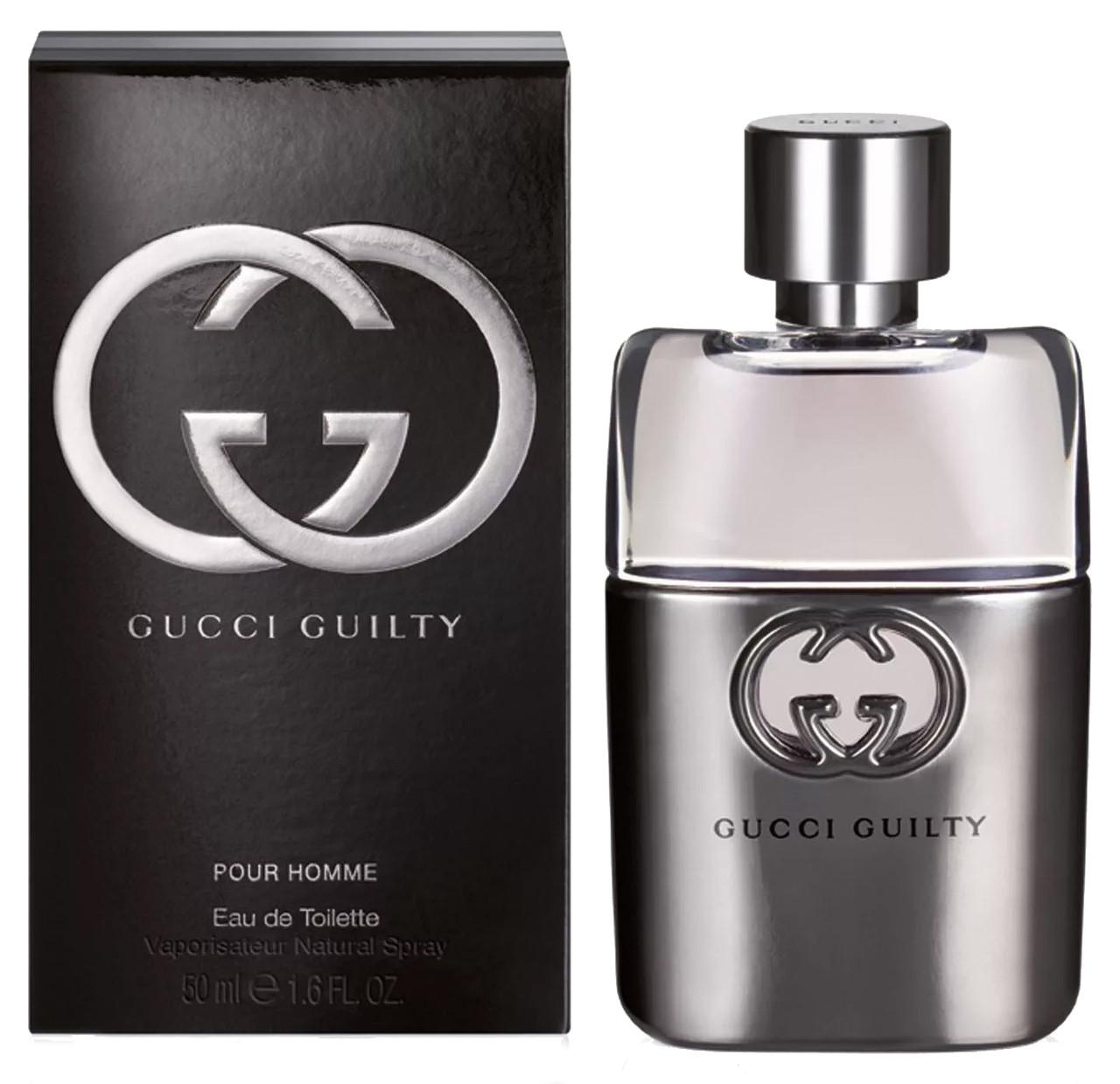 Туалетная вода мужская Gucci Guilty Pour Homme, 90 мл