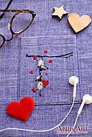 """Набор для вышивки крестом на одежде """"Веселые барашки"""""""