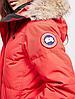 Женская  парка Canada Goose Shelburne Parka Канада Гус (RED), фото 4
