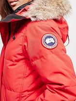 Женская  парка Canada Goose Shelburne Parka Канада Гус (RED), фото 3