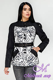 Жіноча демісезонна куртка великого розміру (р. 44-54) арт. 1131 Тон 21