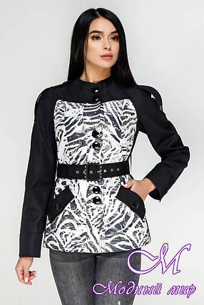 Демисезонная женская куртка большого размера (р. 44-54) арт. 1131 Тон 21, фото 2