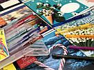 Набор цветных гелевых ручек с блестками First, 10 шт, фото 4