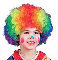Парик клоуна цветной, фото 1