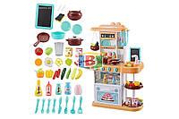 Детская кухня. Световые и звуковые эффекты. Материал: пластик. Limo Toy 889-151-152