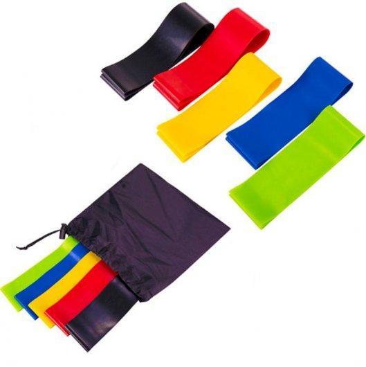 Петли резиновые и ленты для фитнеса