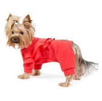 Трикотажный комбинезон для собаки Крист XS-2, Длина спины 26-28 см, обхват груди 32-38 см (для суки)