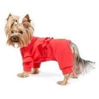 Трикотажный комбинезон для собаки Кристи XS, Длина спины 23-26 см, обхват груди 28-32 см (для суки)