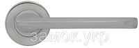 Дверная ручка с накладкой WC MARIANI MARIELLA хром матовый