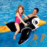 """Детский надувной плотик """"Пингвин"""" тм """"Intex"""""""