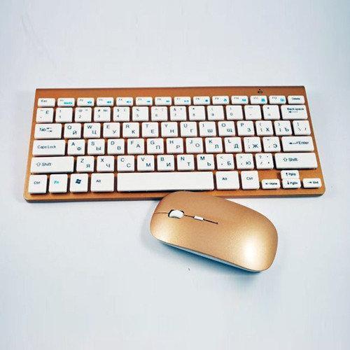Клавиатура Беспроводная Keyboard Wireless 902 + Мышка