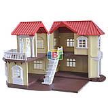 Кукольный домик с мебелью. Световые эффекты. Материал: пластик. Для детей от 3 лет.Код/Артикул Toys Ltd 012-01, фото 5