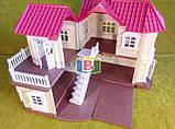 Кукольный домик с мебелью. Световые эффекты. Материал: пластик. Для детей от 3 лет.Код/Артикул Toys Ltd 012-01, фото 7