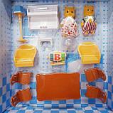 Кукольный домик с мебелью. Световые эффекты. Материал: пластик. Для детей от 3 лет.Код/Артикул Toys Ltd 012-01, фото 8