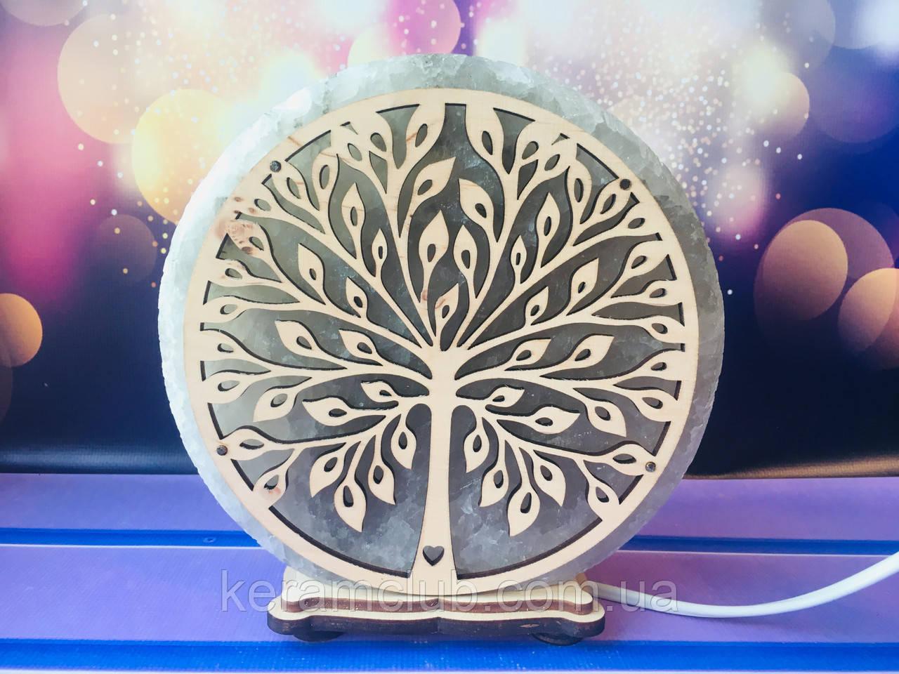 Соляная лампа Дерево d 17 см