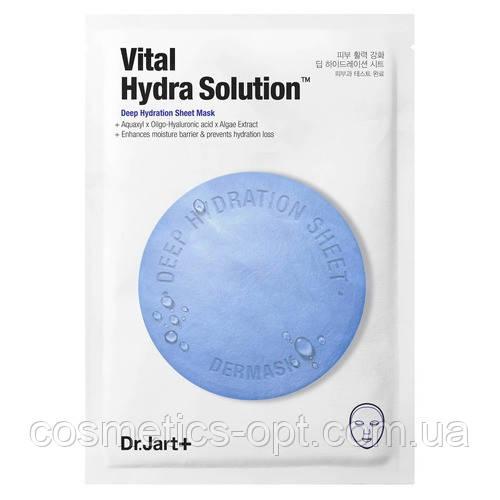 Тканевая маска для лица с гиалуроновой кислотой интенсивно увлажняющая Dr. Jart+ Vital Hydra Solution