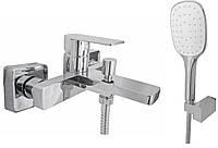 Смеситель для ванны Topaz Sardinia-Ts 08131-H19 душевой комплект (14753)