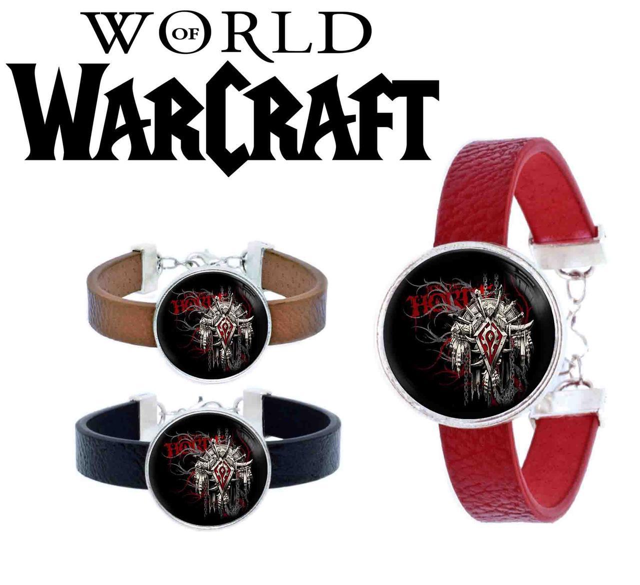 Браслет Орда Варкрафт/ World of Warcraft