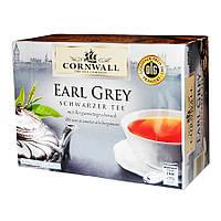 Чай в пакетиках Cornwall Earl Grey 50 шт. (Германия)