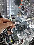 Изумрудный кварц кольцо с натуральным кварцем в серебре. Размер 19 Индия, фото 3