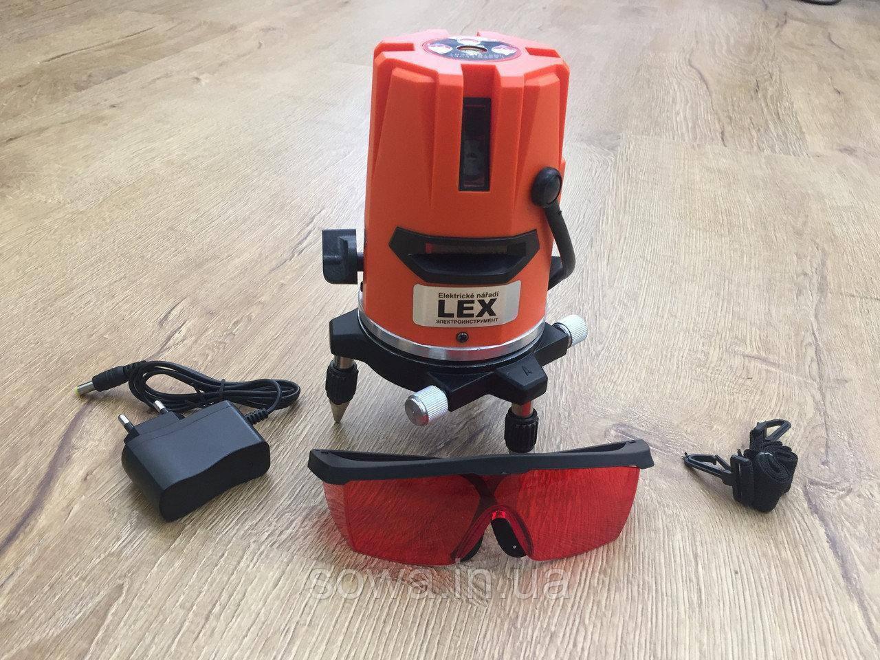 ✔️ Лазерный нивелир LEX LXNL01 ~ 5 линий / 6 точек ~ Гарантия качества