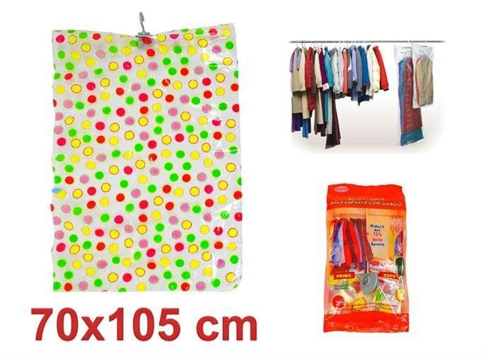 Вакуумний міцний підвісний мішок 70 х 105 см, вакуумный  подвесной пакет для хранения вещей