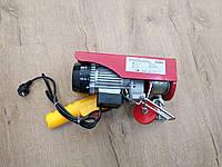 Тельфер Euro Craft HJ202 / Гарантия 1 год (лебедка электрическая погрузочно-разгрузочная таль)