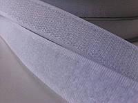 Лента-липучка белая 20 мм метр