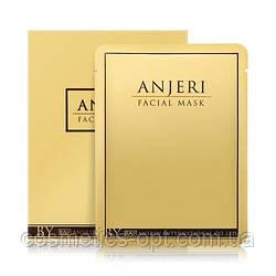 Тайская тканевая маска для лица мгновенного действия ANJERI GOLD