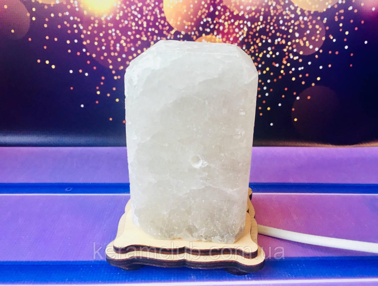 Соляная лампа прямоугольник 16*8*6 см