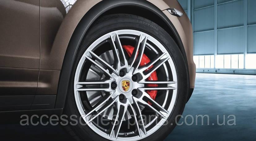 Расширители колесных арок Porsche Cayenne 958 2010-2014 под покраску Новые Оригинальные