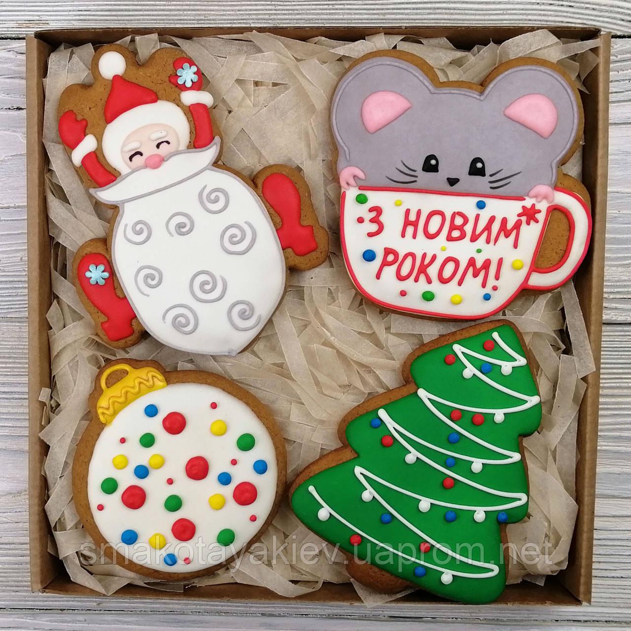 """Набор пряников - """"Новогодние эмоции"""""""