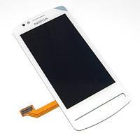 Модуль (Дисплей + сенсор) Nokia 700 white s/k