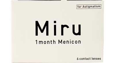 Контактні лінзи Menicon, Miru for Astigmatism