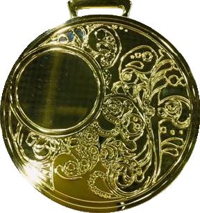 Медаль наградная 80мм. 851