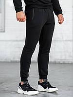 Мужские спортивные штаны BEZET черные на манжетах