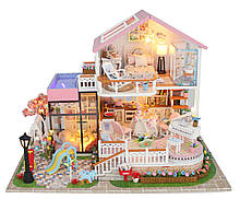 3D Румбокс Вілла - Ляльковий Дім Конструктор / DIY Doll House від CuteBee