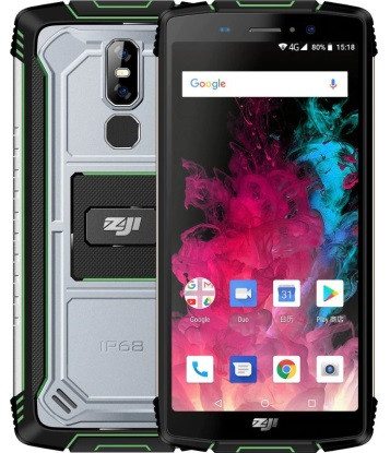 "Смартфон Homtom Zoji Z11 4/64GB Green, 16+2/13Мп, 2sim, 5.99""IPS, 10000mAh, 8 ядер"