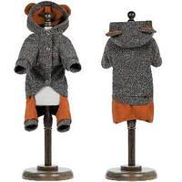 Осенне-весенний костюм для собаки Микки M, Длина спины 33-36, обхват груди 41-48 см
